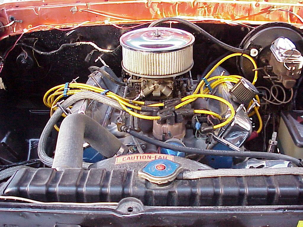 1975 F100 Explorer 1975F100Enginefront