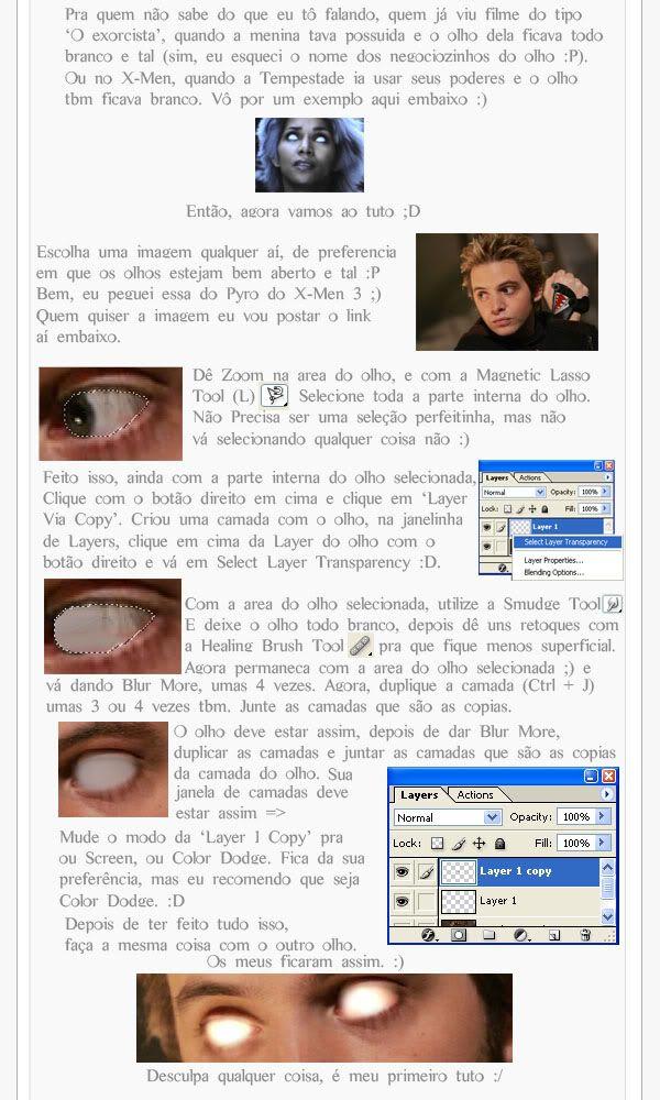 Olhos pra Dark Art Tutoyart2