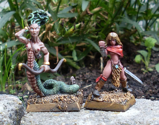 The Chronicles of Daniel36 - Mordheim Adventures Medusa-Barbarian