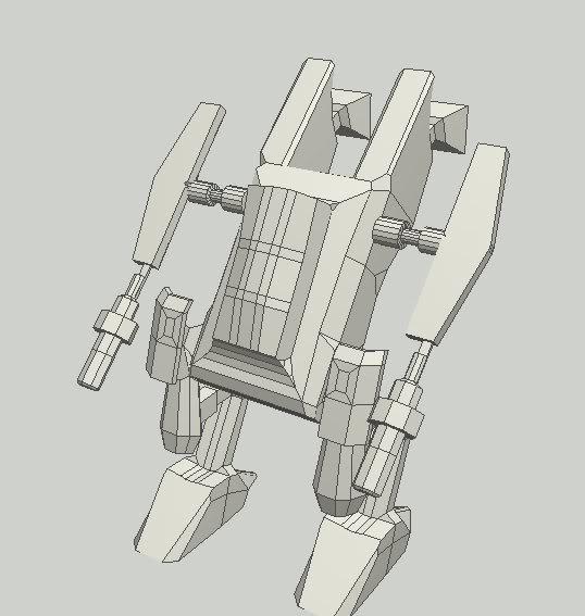 Liberator concept mech Mecher
