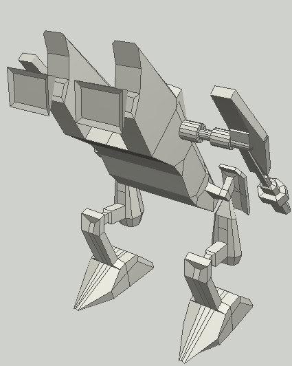 Liberator concept mech Mecher2