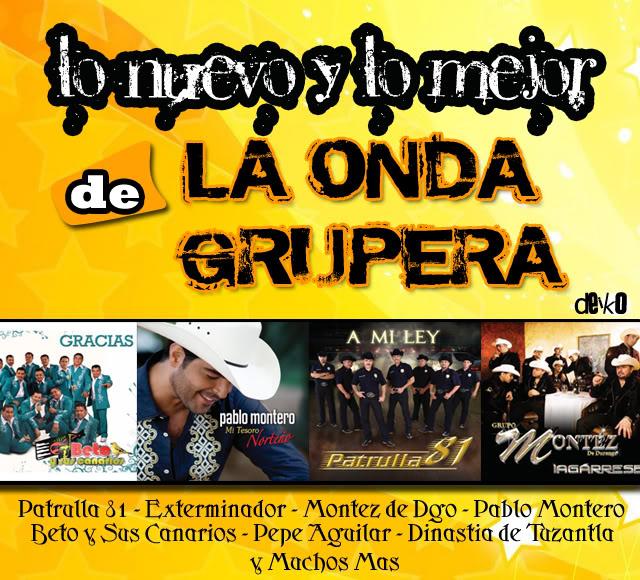 VA - Lo Nuevo & Lo Mejor de la Onda Grupera -  2008 Portada