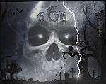 EVIL 666 SkullAvatarbroocopy
