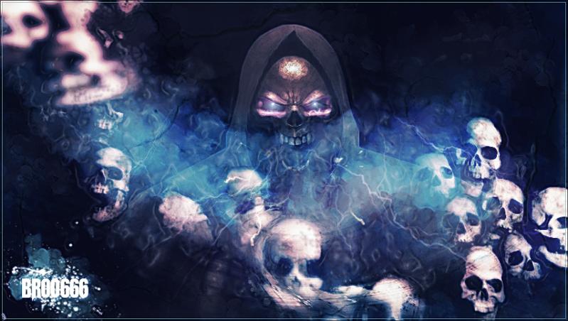EVIL 666 Broo666_grim