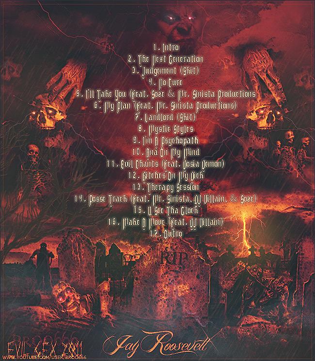 EVIL 666 Demonicnotebookbacktracklistbroo6662-1