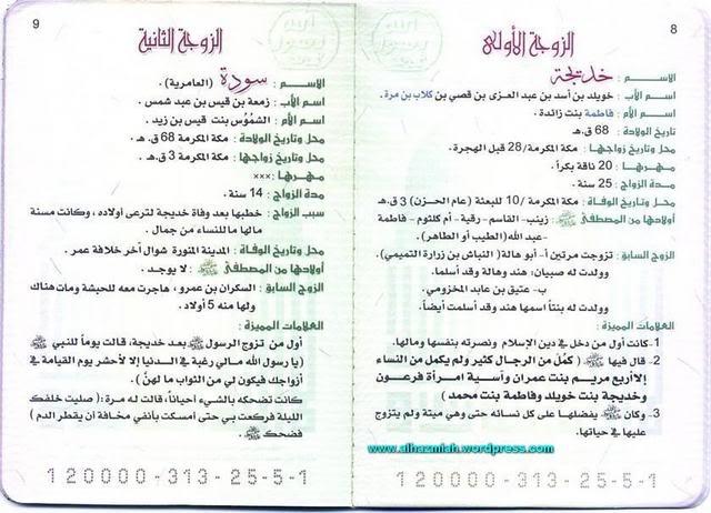 كتاب اسرة الرسول محمد (ص) 115