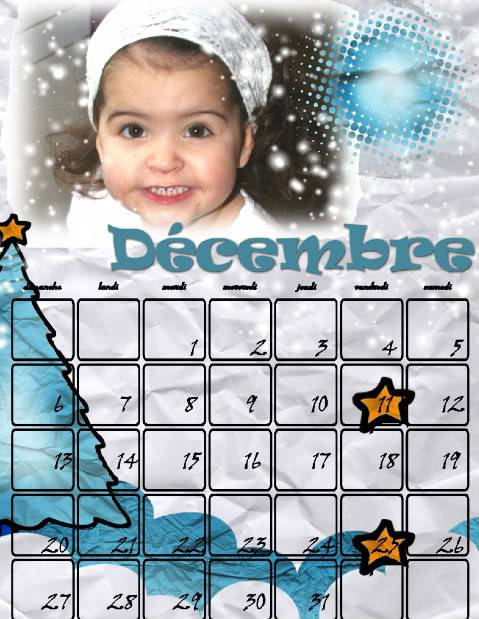 Calendriers 2009 - Page 6 Decembre