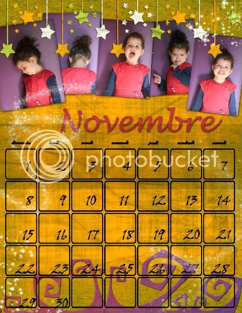 Calendriers 2009 - Page 6 Novembre