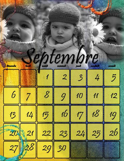 Calendriers 2009 - Page 6 Septembre