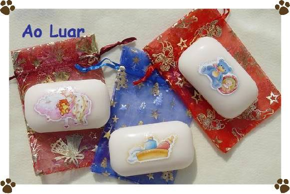 Sabonetes para bebés decorados com sticker´s Aaa-1