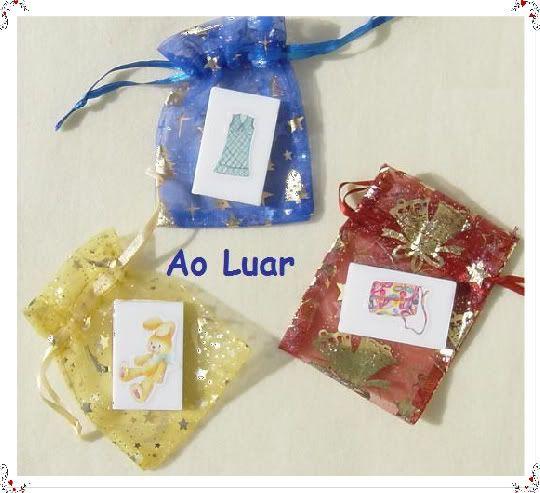Sabonetes para bebés decorados com sticker´s Aaa1-1-1