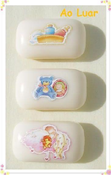 Sabonetes para bebés decorados com sticker´s Aaa3-1