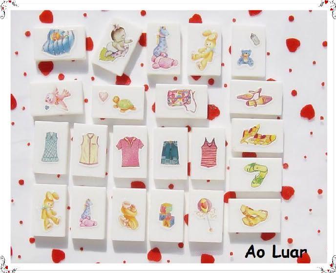 Sabonetes para bebés decorados com sticker´s Aaa5-1