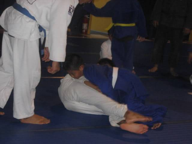 Cyril in Jiu Jitsu Class 102208219