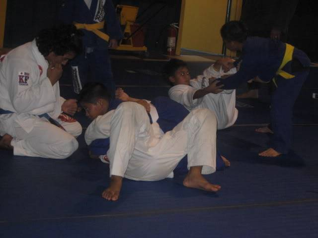 Cyril in Jiu Jitsu Class 102208220