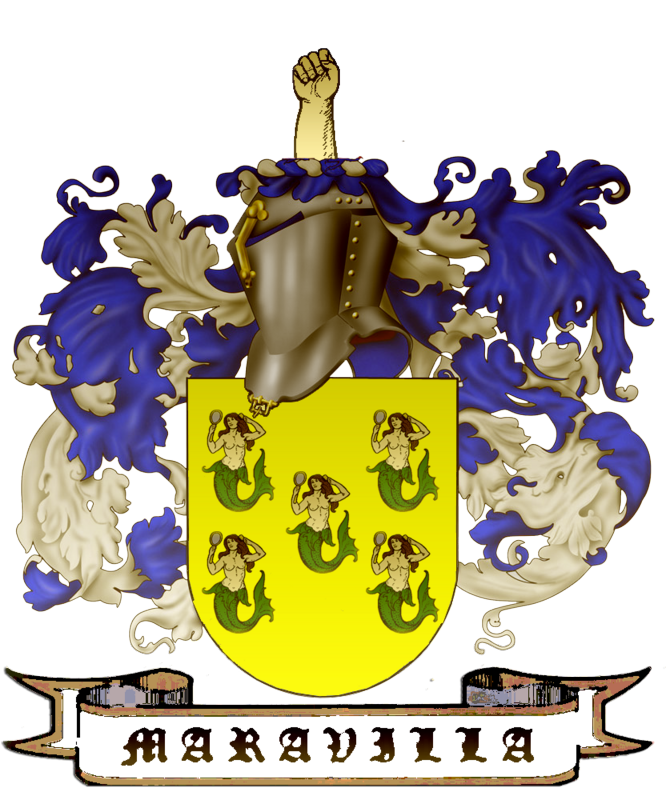 Maravilla history and coat of arms. Maravillacopy