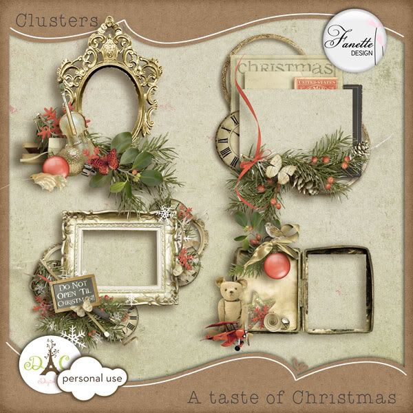 Fanette Design  - Page 2 Preview_clusters_atasteofchristmas_fanette