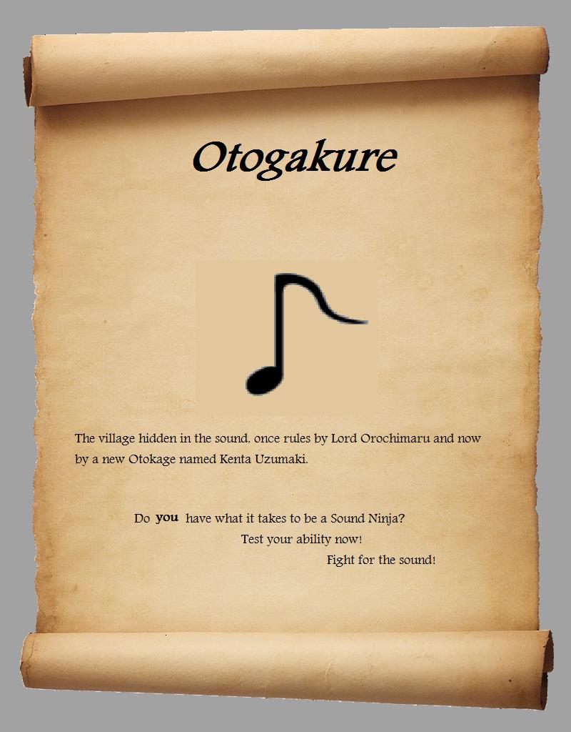 Otogakure, Sound Village {open} Oto