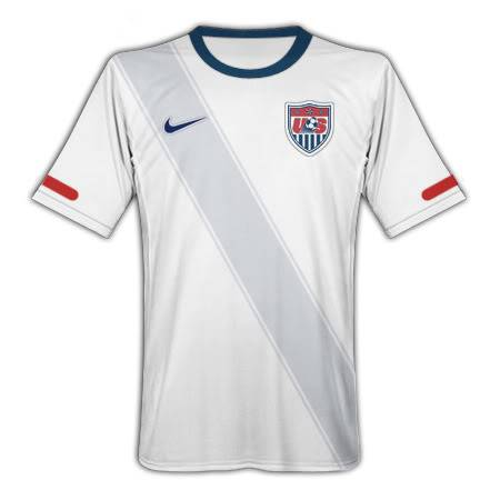 Images clothes of the 2010 World Cup teams Jersey_2010_home