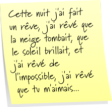 Section «Post-it» Post-it-1