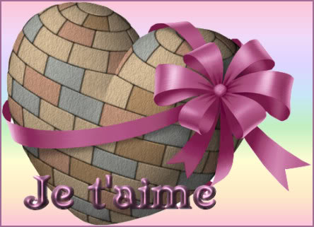 Section Je t'aime, amour & coeurs 1-coeur-rose-2