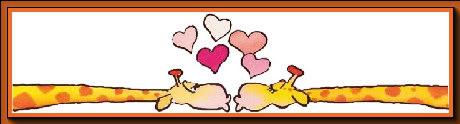 Section St-Valentin Amoureux-girafes