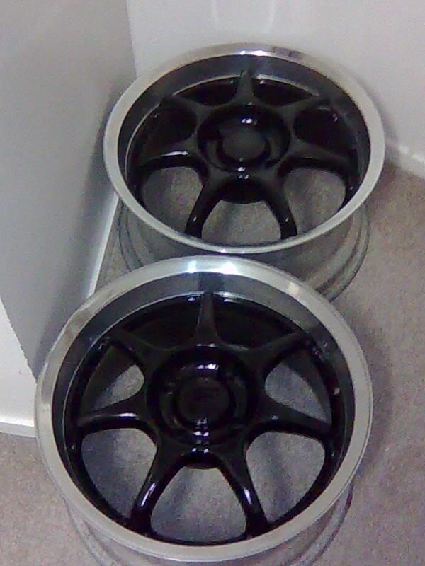 "Enkei Wheels 16"" 4x114.3 with tyres SOLD!! Magsjustpaintd-1"