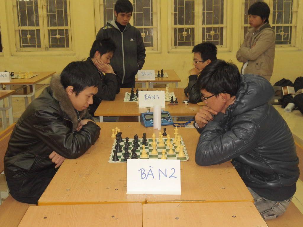 Toàn cảnh giải vô địch đại học Xây Dựng, tháng 2 năm 2012 DSC04507