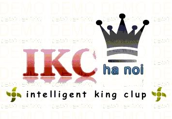 Bản demo logo của IKC! anh em vào view rồi chém nhé! Rr