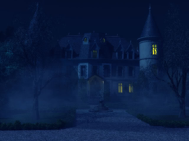 Haunting at Cliffhouse  by Ghostlady 4_housedark