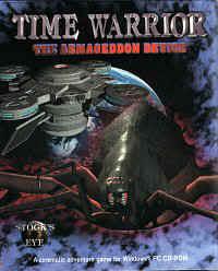 Time Warrior: The Armageddon Device Timewarriorbox1