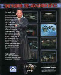 Time Warrior: The Armageddon Device Timewarriorbox2