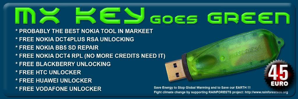 MXKEY SL3 UNLIMITED unlocking done. ForumadvMX-Key-Green