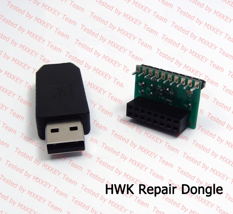 FIRST IN THE WORLD - HWK REPAIR DONGLE by MXKEY Team Hwk_repair_dongle_2
