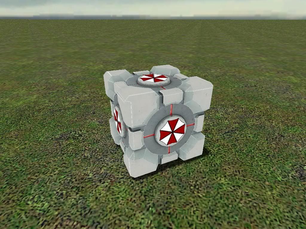 Umbrella corp cube 25521_1