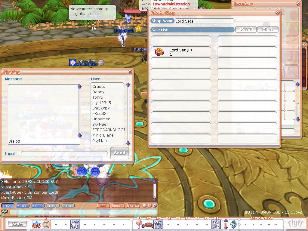 Players Get Hacked Items With Proof Flyff00027