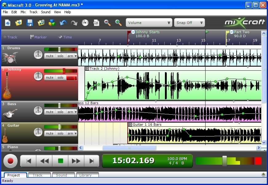 Acoustica Mixcraft 2 Pictures, Images and Photos