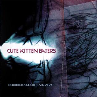 Cute Kitten Eaters PochetteEPtaillerduitepourpub