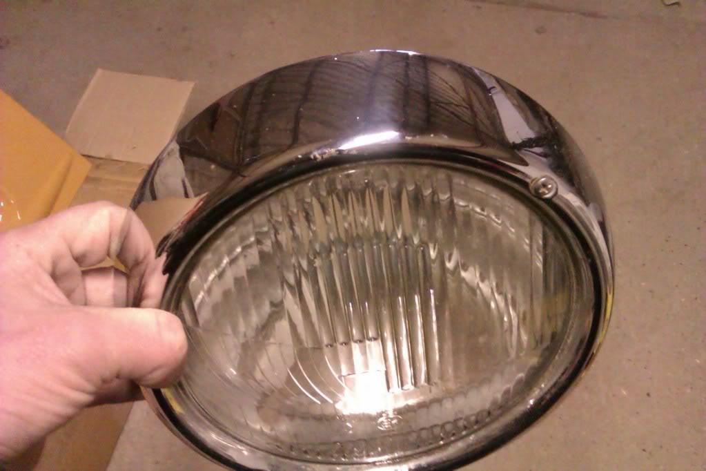 '72 beetle headlight  IMAG1147