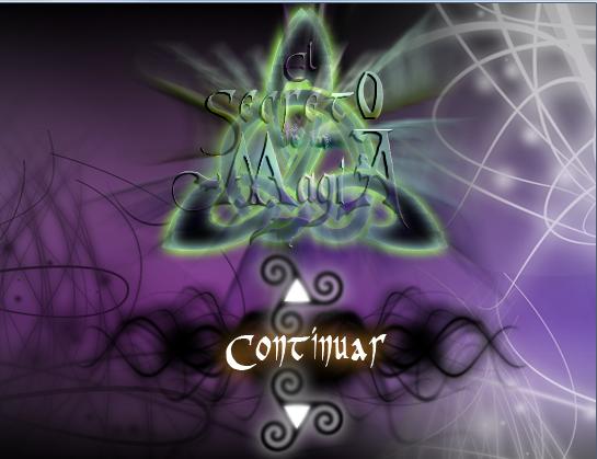 [Proyecto] El Secreto de la Magia Menu2