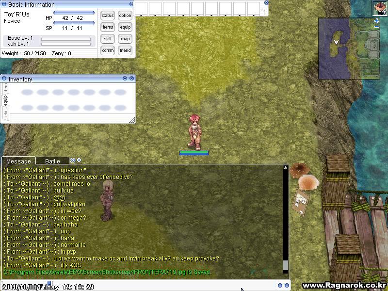 Kaos's Sabotage Plan ScreenPRONTERA721
