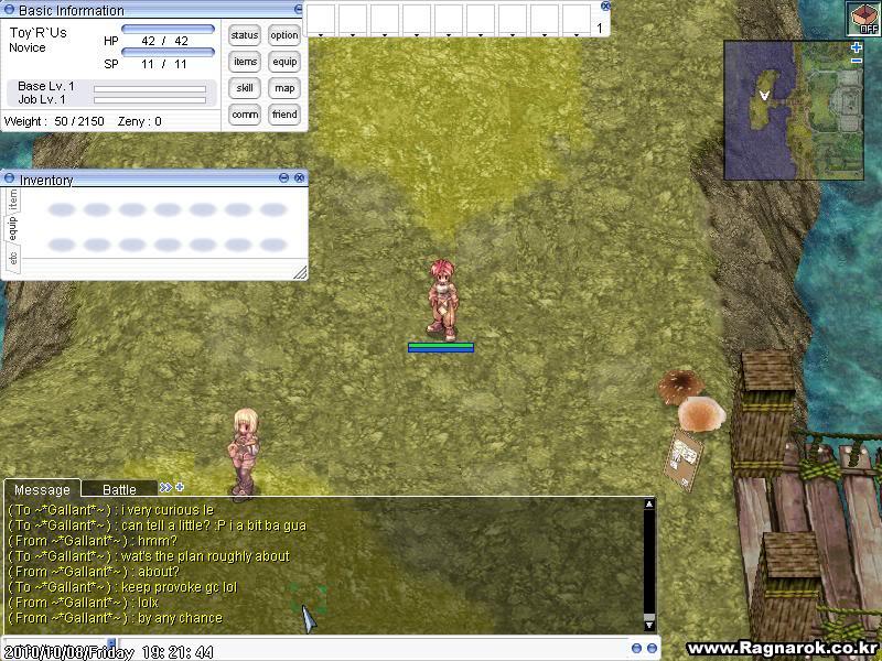 Kaos's Sabotage Plan ScreenPRONTERA722