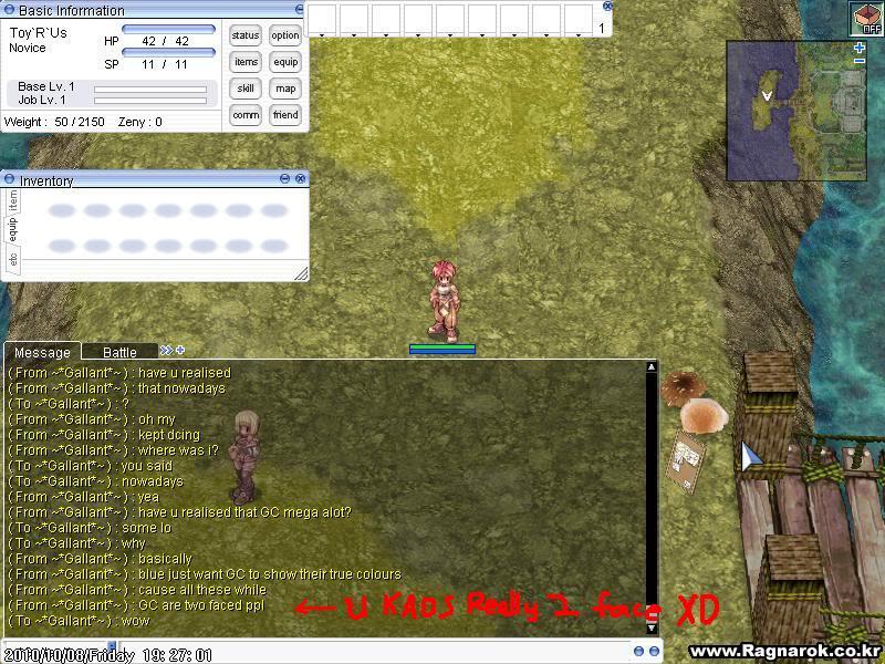 Kaos's Sabotage Plan ScreenPRONTERA723