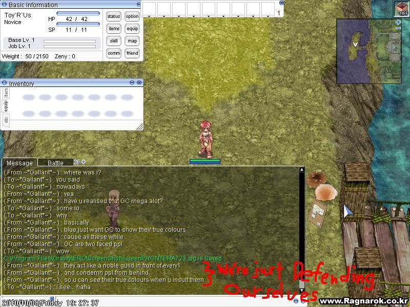Kaos's Sabotage Plan ScreenPRONTERA724