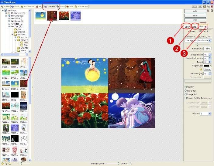 Hướng dẫn sử dụng phần mềm Photo Scape 12-5