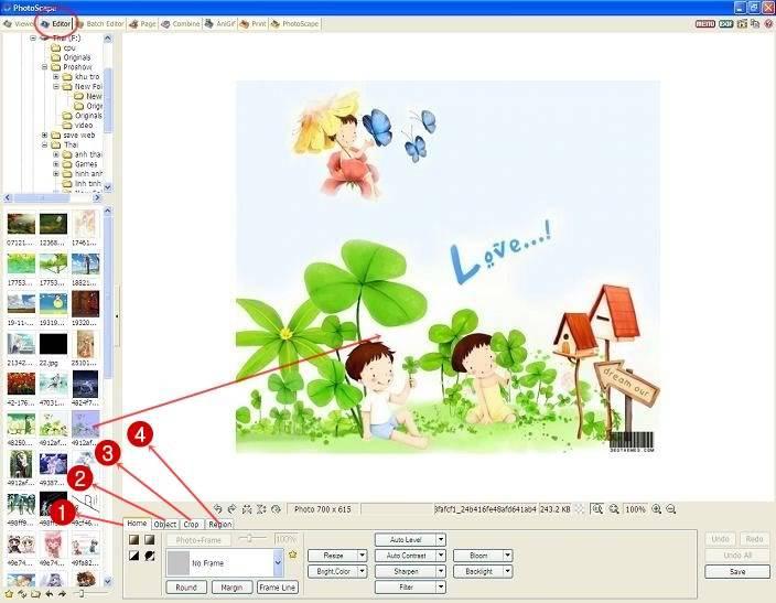 Hướng dẫn sử dụng phần mềm Photo Scape 2-11