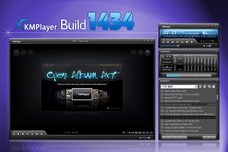 الآن...أحدث نسخة من أقوى برامج تشغيل الصوتيات و الفيديو The KM Player KMPlayer