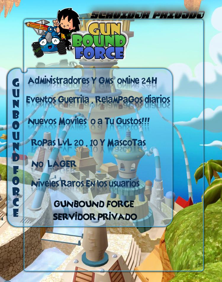 NEW GUNBOUND FORCE  Diseo2