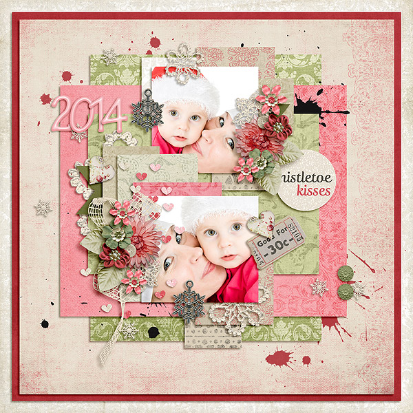 25 days of Christmas templates - Pickle Barrel 21. November Mistletoe-kisses_zps6b2e95f5