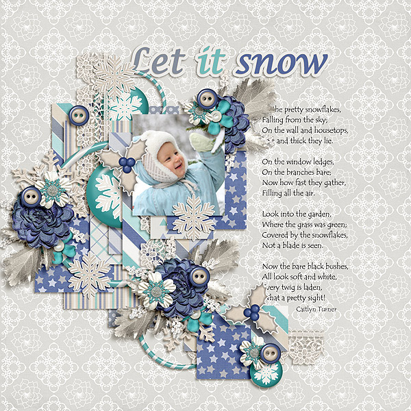 Beauty in winter Memory Mix at Mscraps - December 13. TD-let-it-snow-13Dec_zps62509c29